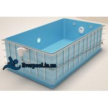 Полипропиленовый бассейн Liverpool 4x2x1,6м