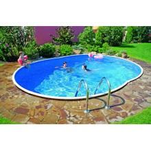 Сборный наземный бассейн Mountfield Azuro DE LUXE 404DL (5,5х3,7м \ 21000л)