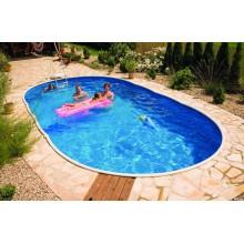 Сборный наземный бассейн Mountfield Azuro DE LUXE 405DL (7,3х3,7м \ 29000л)